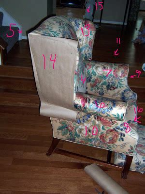 wing chair recliner slipcover pattern wingback chair pattern patterns gallery