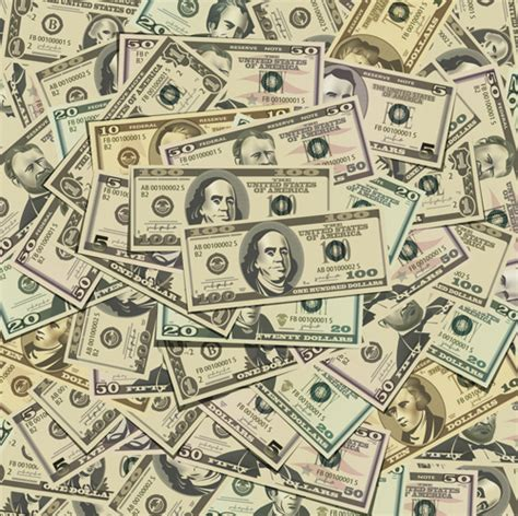 Design Online For Money   various money design elements vector free vector in