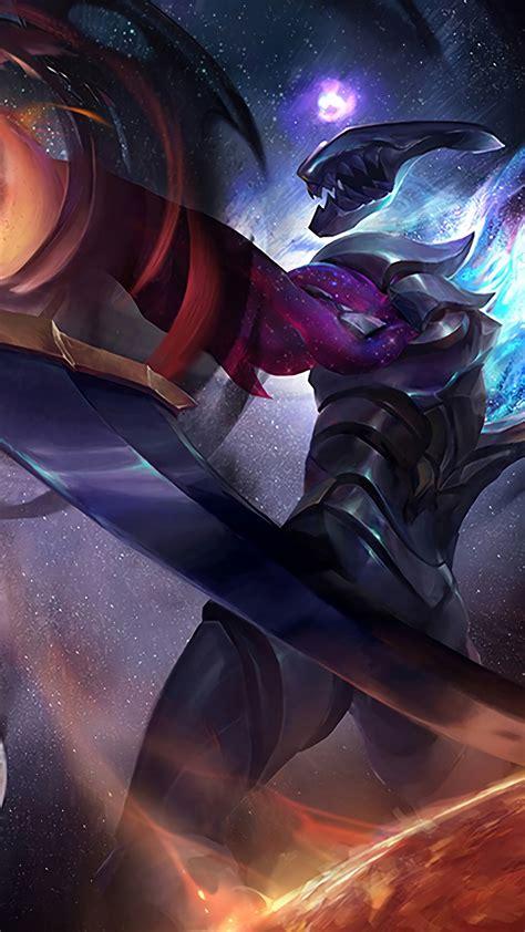 wallpaper dark star varus league  legends  games