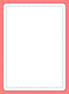 card template deck