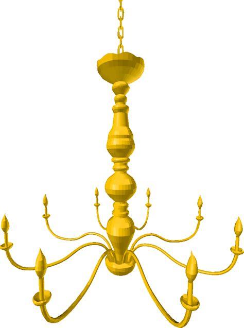 onlinelabels clip art chandelier