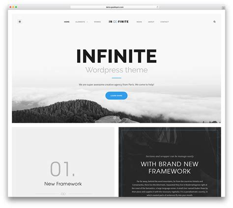 themes wordpress logo 30 clean and simple wordpress themes 2018 colorlib