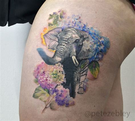 watercolor tattoo philly pete zebley tattoos