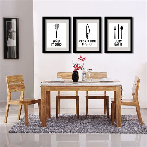 home decor wall posters aliexpress buy p32 eat well wall print poster