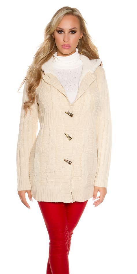 knitted coat knitted coat woollen coat cardigan jacket coat fleece