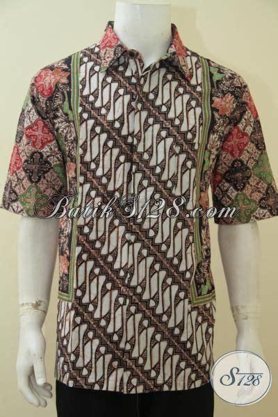 Baju Pakaian Pria Busana Kemeja Pendek Motif Batik Murah 3 shop produk pakaian batik asli jual kemeja batik lengan pendek pria dewasa size xl