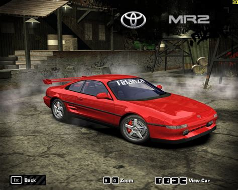 Toyota Mr2 Sw20 Need For Speed Most Wanted Toyota Mr2 Sw20 Nfscars