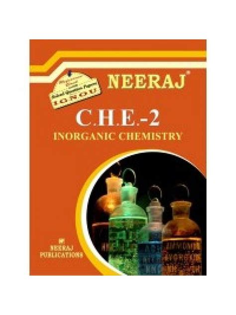 Ignou Mba Guide Books by Che 2 Inorganic Chemistry Ignou Guide Book For Che2