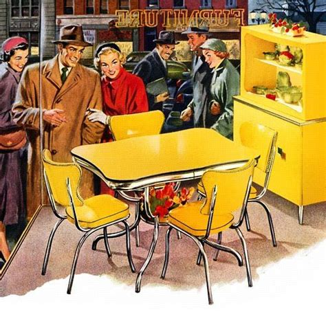 yellow vintage kitchen 25 best ideas about retro kitchen tables on pinterest