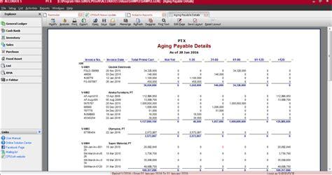 pembuatan neraca saldo termasuk dalam tahap software akuntansi perusahaan dagang penjualan resmi