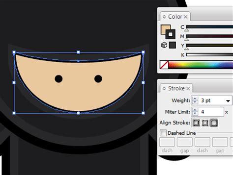 adobe illustrator ninja tutorial tutorial adobe illustrator crear un grupo de ninjas