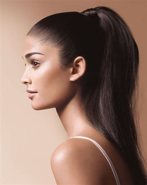 pony tail with fringes back 21 best images about black looks on pinterest catsuit