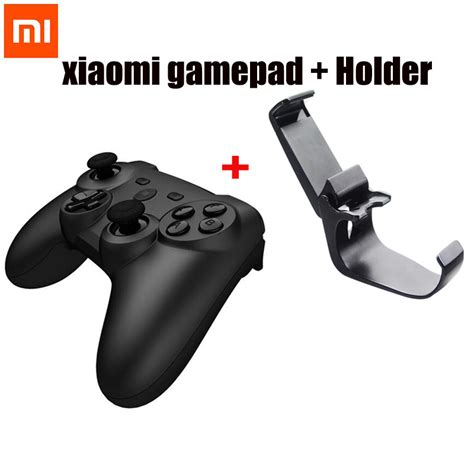 Xiaomi Lightweight Bluetooth Monopod Wireles Android Ip Limited original xiaomi mi wireless bluetooth handle controller remote joystick gamepad with holder