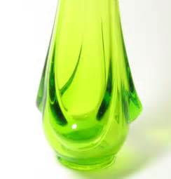 Antique Blown Glass Vases Vintage Green Vase Vases Sale