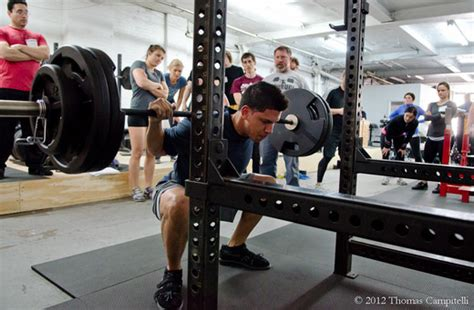 Top Squat Bar by Crossfit Oakland 187 Accessory Work