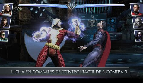 injustice hack apk descargar injustice gods among us v2 17 apk datos hack mod