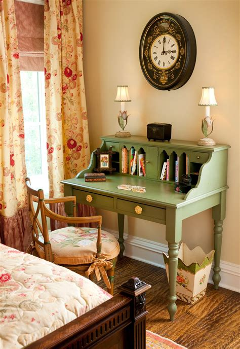 beautiful vintage style girls bedroom small cottage
