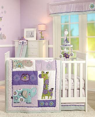 Macys Crib Bedding S Zoo Crib Bedding Collection Bed In A Bag Bed Bath Macy S
