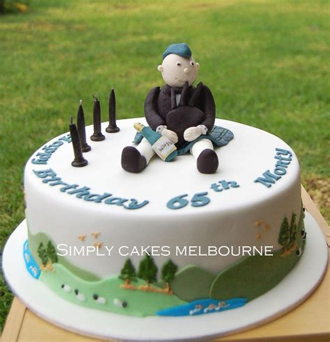 themed birthday cakes melbourne simply cakes melbourne scottish themed cake for 65th birthday