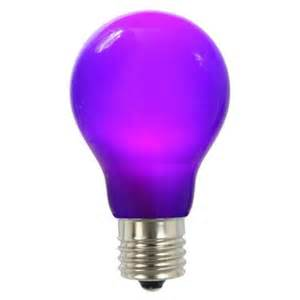 Purple Led Light Bulbs Vickerman 12w Purple E26 Led Light Bulb Walmart