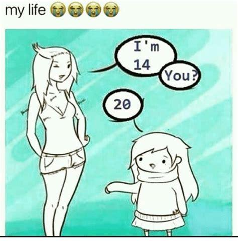 my i m 14 you 20 meme on sizzle