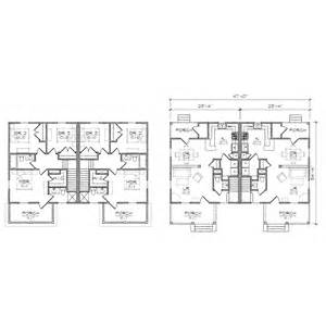 L Shaped Duplex Plans by Freeman Duplex Prairie Floor Plan Tightlines Designs