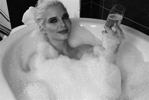 sexy bathtubs coronation street s helen flanagan teases fans with sexy bubble bath picture
