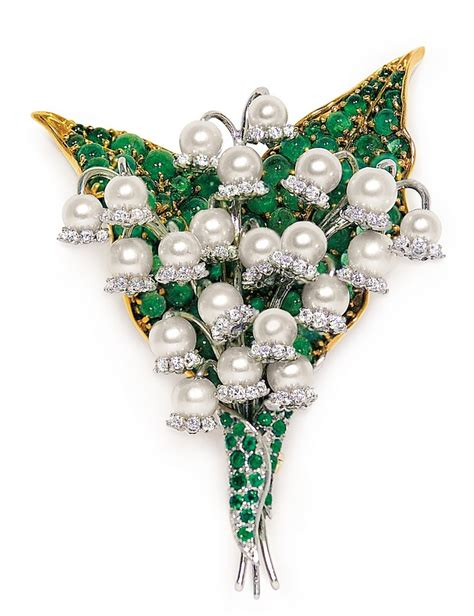 of the valley brooch by fulco di verdura jewels du jour