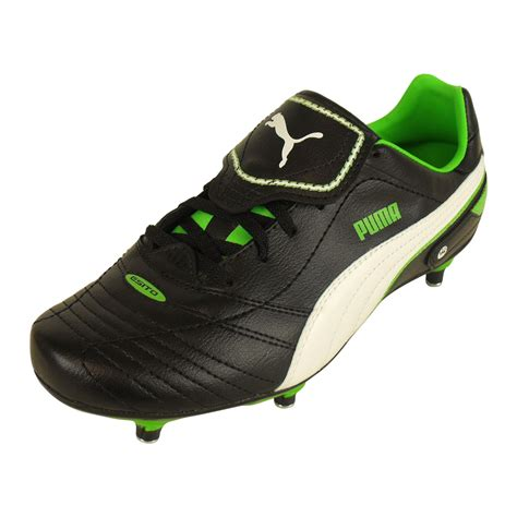 mens black football boots mens boys esito finale sg black soft ground football