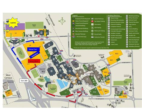 uvu map auto expo home