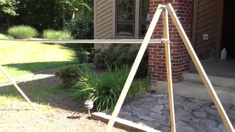 How To Make A Portable Hammock Stand diy portable cing hammock stand