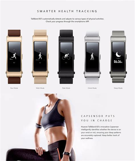Smartband Y2 Leather Colourful Display huawei talkband b3 smart headset bracelet beige
