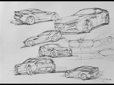 create pattern sketch 3 2012 bmw zagato coupe design sketch 3 1280x960 wallpaper