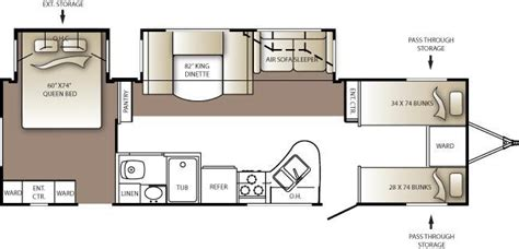 outback travel trailer floor plans 2010 keystone outback 301bq travel trailer lexington ky