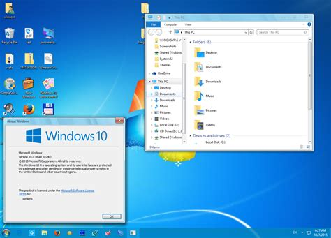 microsoft themes win 10 get windows 7 theme for windows 10