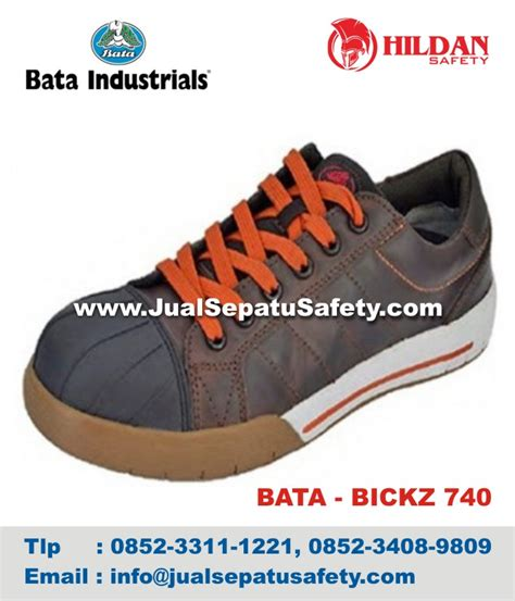 Sepatu Sneakers Bata bata bickz 740 jual sepatu safety bata paling murah di