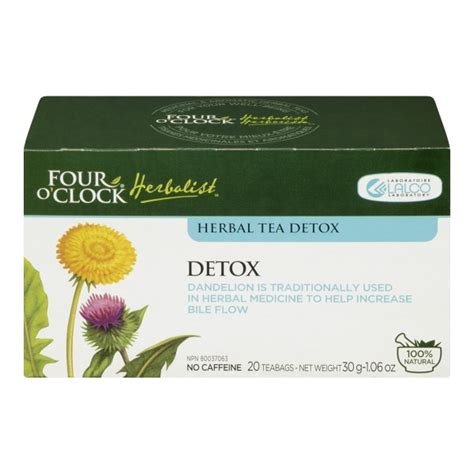 Herbal Medicine Detox Tea by Buy Four O Clock Herbalist Detox Herbal Tea In Canada