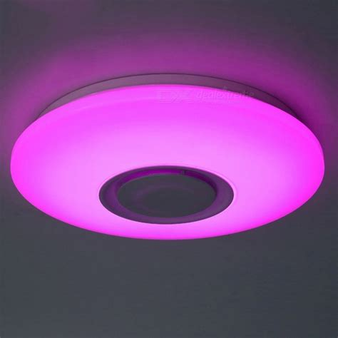 Colour Changing Ceiling Lights 36w Color Changing Led Ceiling Light With Bluetooth For Living Room Bedroom