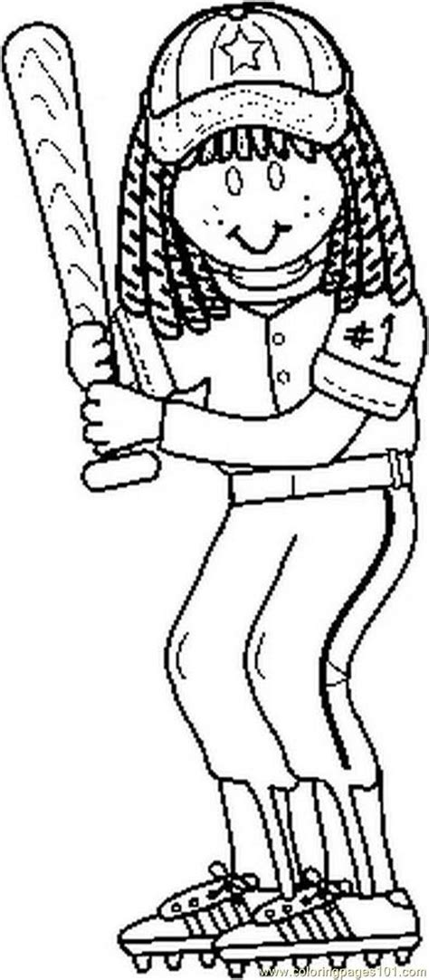 softball coloring pages softball coloring pages to and print for free
