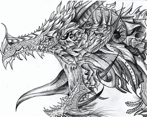 Drawing Dragons by 21 Realistic Drawings Free Premium Creatives