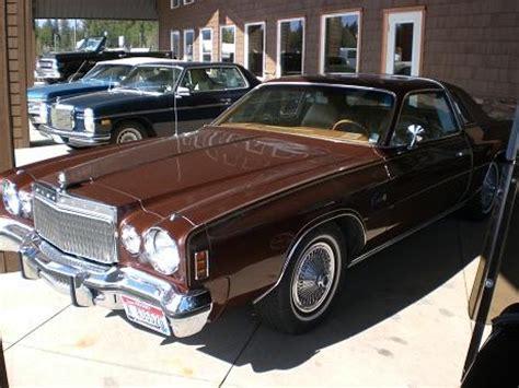 1977 Chrysler Cordoba For Sale by 1977 Chrysler Cordoba Details Hastings Ne 83835