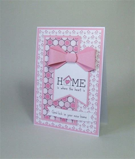 Handmade New Home Card Ideas - 25 best ideas about new home cards on new
