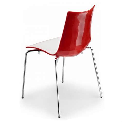 sedie bianche economiche sedie bicolore arredamento locali contract