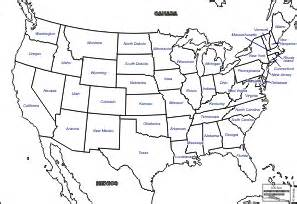 us map empty states united states of america usa free maps free blank maps