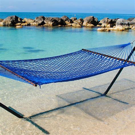 caribbean hammocks classic rope coastal blue by the