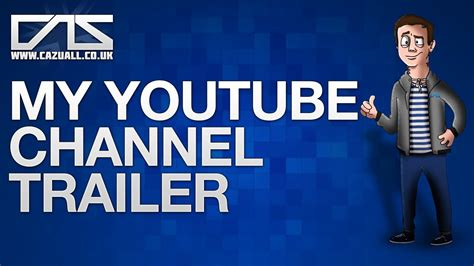 my trailer my channel trailer march 2014