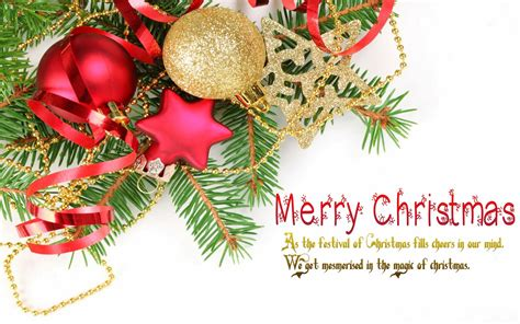 Christmas Greeting Card Text Christmas Lights Decoration