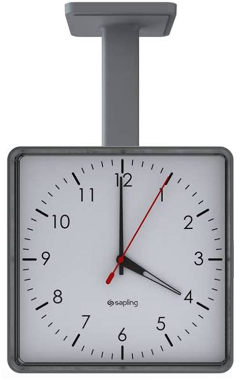 Ceiling Clock by Tech Series How To Install Sapling S New Square Wireless Clock In 4 Easy Steps Sapling Clocks
