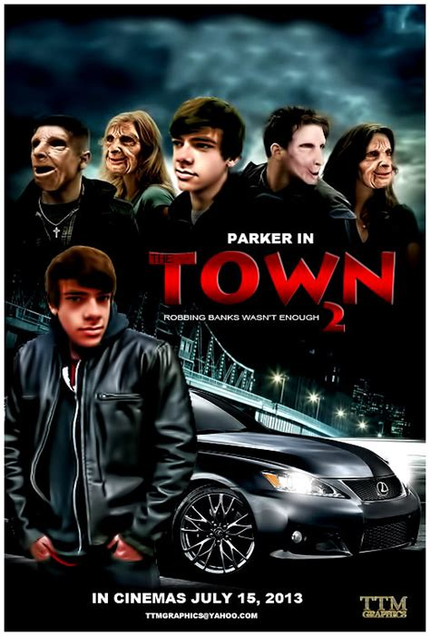 movie town the town movie poster 2 by tmarried on deviantart
