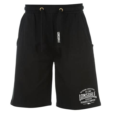 lonsdale mens box lightweight shorts bottoms boxing